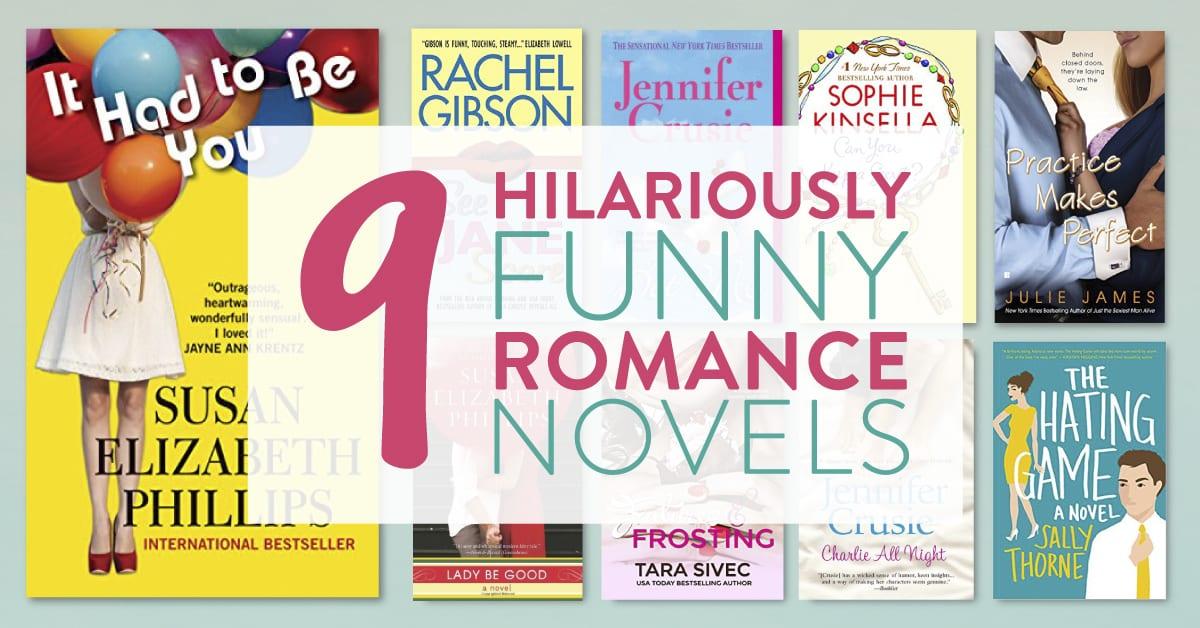 9 Hilariously Funny Romance Novels