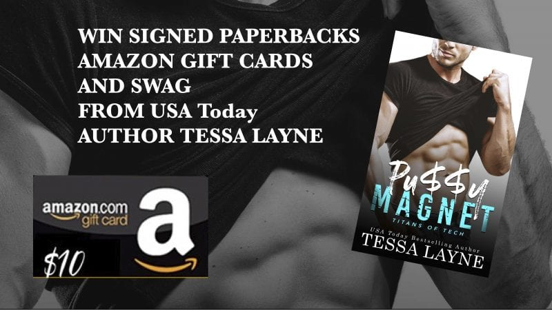 Sign up for this HUGE GIVEAWAY from USA TODAY Bestselling Author Tessa Layne