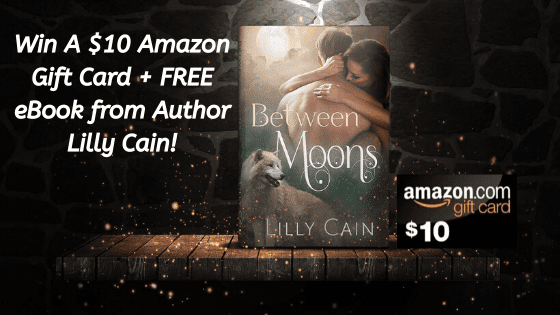 Win a $10 Amazon Gift Card & A Free Book from Lilly Cain!
