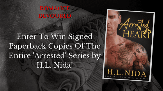 Win Signed Paperback Copies Of The Entire 'Arrested' Series by H.L. Nida!