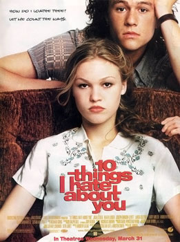 best romantic movies: 10 things i hate about you