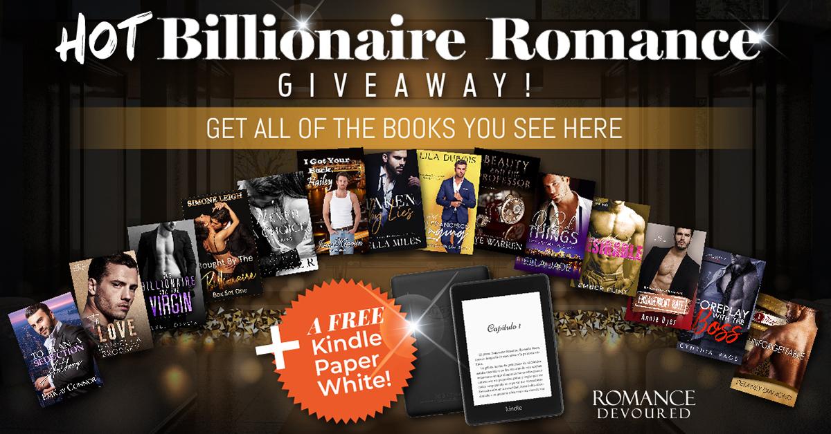 HOT Billionaire Romance Giveaway. Enter Now.