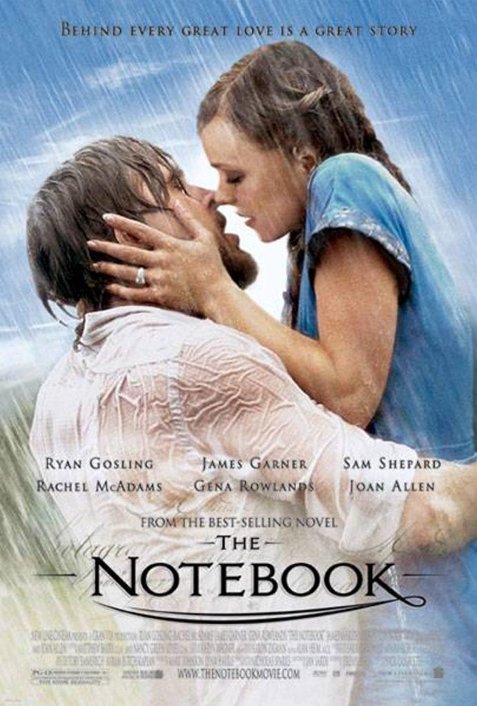 sad romantic movies: the notebook