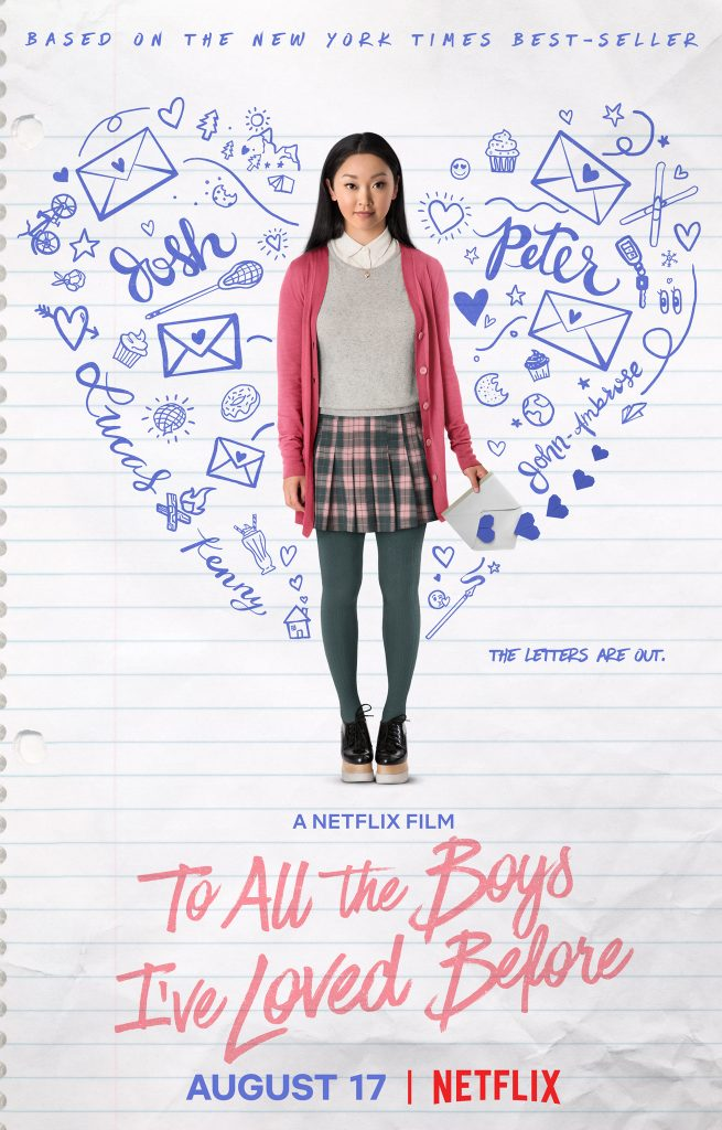 romantic movies on netflix: to all the boys ive loved before