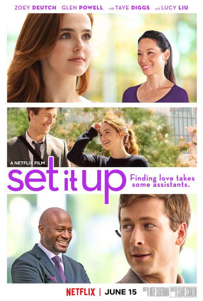 romantic movies on netflix; set it up