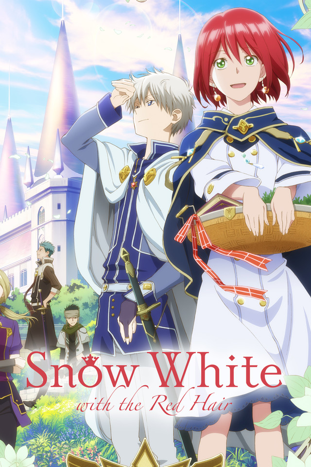 romance anime on hulu: snow white with the red hair
