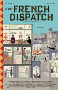 new romantic movies: the french dispatch