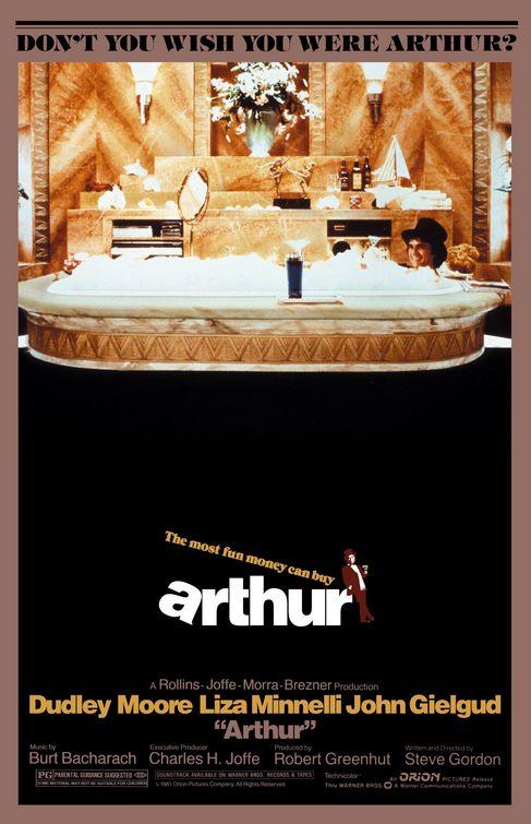 romantic movies 80s: arthur