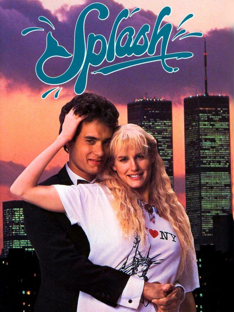 romantic movies 80s: splash
