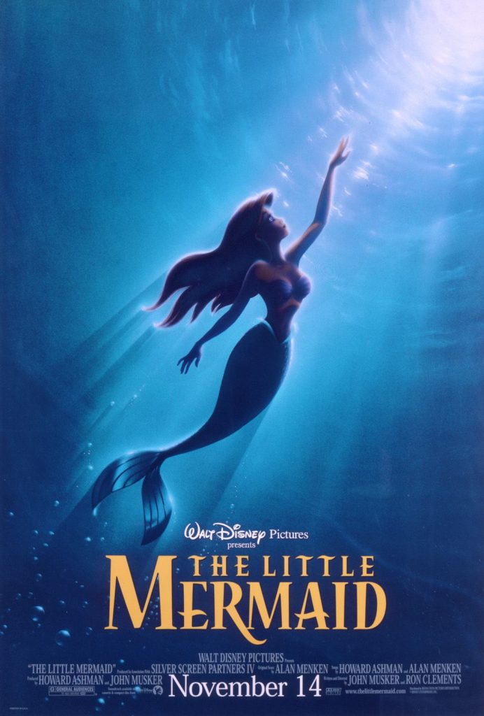 romantic movies disney: the little mermaid
