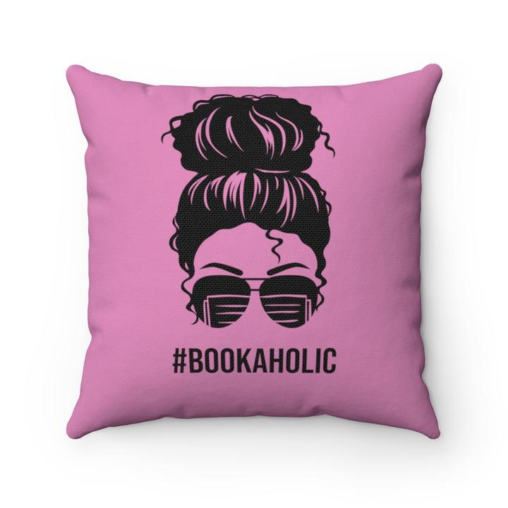 pillows for reading in bed: #bookaholic