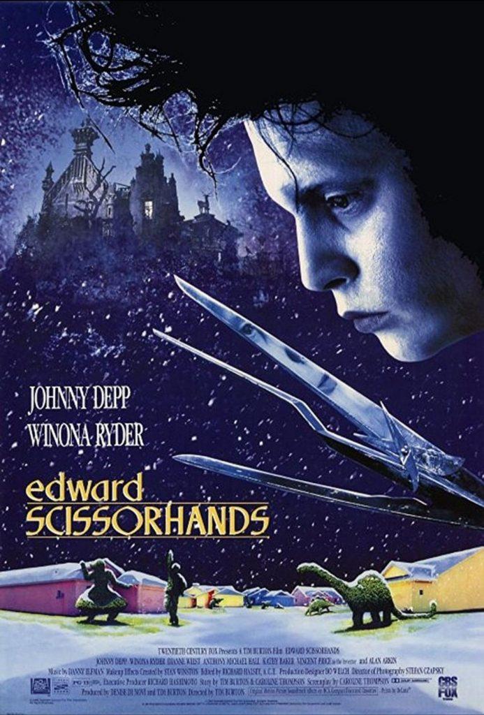 romantic movies 90s: edward scissorhands