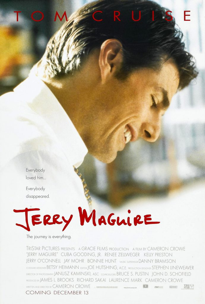 romantic movies 90s: jerry macguire