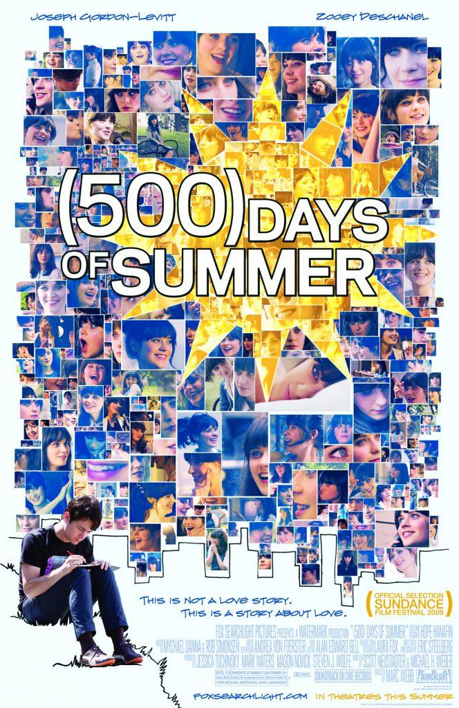 romance movies on amazon prime: 500 days of summer