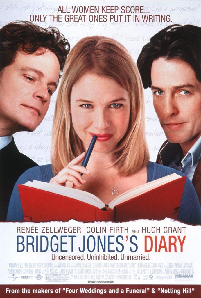 Romantic Comedy Movies: bridget jones diary