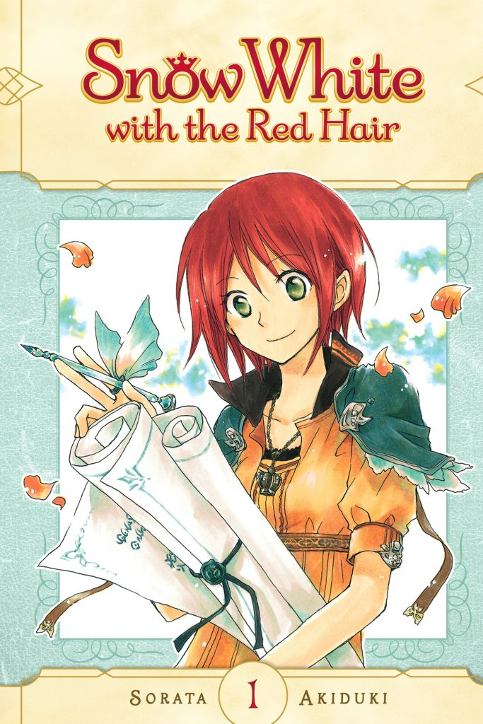 romance manga: snow white with the red hair