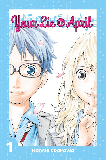 romance manga: your lie in april